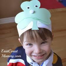 east coast mommy preschooler craft st patrick u0027s day hat