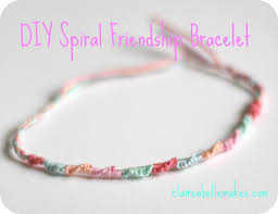 bracelet instructions string images Diy spiral friendship bracelet jpg