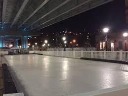 icymi hoboken u0027s winter village boasts an ice skating rink