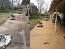 How To Stain Concrete Patio Yourself Spring Clean Your Outdoor Patio With Pressure Washing