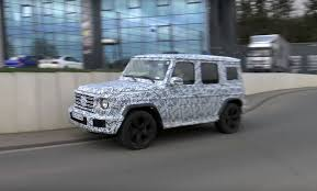 Goes Off 2019 Mercedes Benz G Class Technically Goes Off Road Near