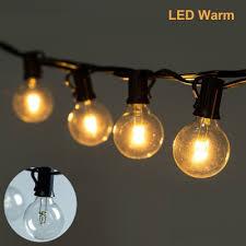 g40 string lights 25ft led bulbs