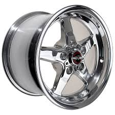 mustang pony wheels mustang race industries wheel drag polished direct drill