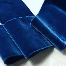 velvet ribbon by the yard vintage velvet ribbon trim 72mm wide royal blue velvet