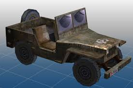 military jeep military jeep truck 3d model download from voila3d com