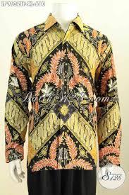desain baju batik untuk acara resmi produk busana batik pria terkini untuk rapat dan acara resmi hem