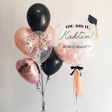 helium balloon delivery in selangor 24 gold graduation balloon set giftr malaysia s
