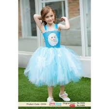 frozen elsa birthday party tutu dress for little princess with
