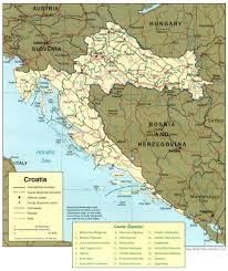 Map Of Italy And Croatia by Maps Of Croatia Detailed Map Of Croatia In English Tourist Map