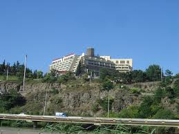 panoramio photo of hotel sheraton palace tbilisi view from kura