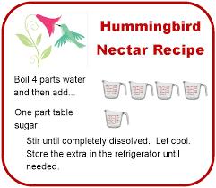 Table Sugar Formula How To Make Your Own Hummingbird Food The Blackbird Diaries