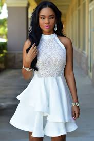 Dress Barn Black And White Dress White Lace Irregular Layered Skater Dress Www Hersheeave