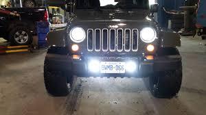 led lights for jeep wrangler jeep wrangler led bulbs cjr performance youtube