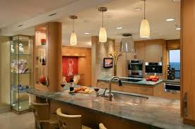 Hanging Kitchen Pendant Lights Ls Gorgeous Modern Kitchen With Beautiful Use Of Pendant
