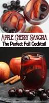 apple cherry sangria a mix of envy apples cinnamon and