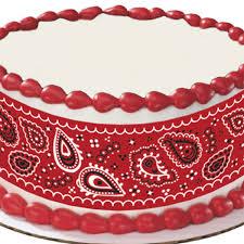 edible cake images bandana edible image cake decoration