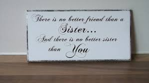 sister gift sisters wooden plaque signchristmas gift