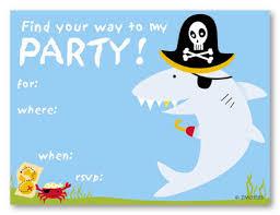 shark birthday invitations templates free invitations ideas