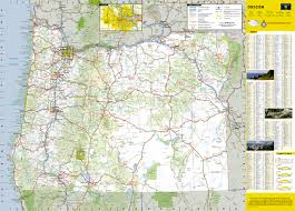 United States Map With Mileage Scale by Oregon National Geographic Guide Map National Geographic Maps
