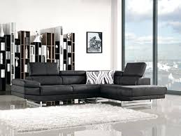 Black Leather Sectional Sofas Black Sectionals With Chaise Buchannan Microfiber Sectional Sofa