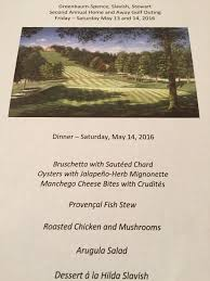 Ina Garten Make A Wish Food Good Golf And Great Friends U2013 And Ina Garten