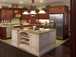 furniture white kitchen island with wood top along with white l