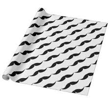 mustache wrapping paper moustache wrapping paper wrapping papers
