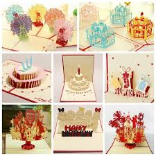 kirigami 3d pop up card for kids birthday greeting cards