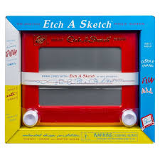 classic etch a sketch ohio art magic screen toy vintage drawing