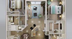 apartments with 2 floors plans 3d floor plans northfield commons