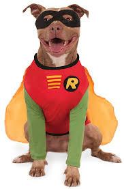 Halloween Costume Large Dogs Rubies Costume Company Dc Comics Robin Big Dog Boutique