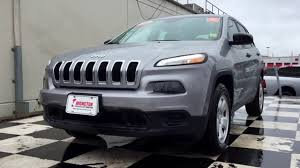 2016 jeep cherokee sport 2016 jeep cherokee sport heated seats 4x4 suv youtube