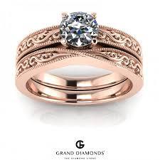 wedding rings cape town 0 40cts gold filigree diamond rings grand diamonds cape town
