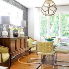 Dark Wood Kitchen Table Furniture Stunning Mid Century Modern Kitchen Table For Kitchen