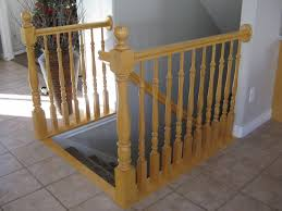 tda decorating and design before u0026 after diy stair railing