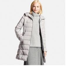 uniqlo ultra light down jacket or parka uniqlo grey women ultra light down stretch hooded puffy ski coat