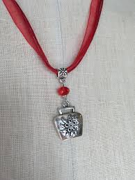 alpine cowbell charm necklace cowbell and products