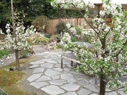 fiandre precious stones patio asian with tree statues and