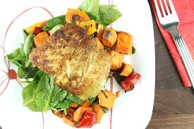 Roasted Vegetables Recipe by Cumin Scented Halibut With Balsamic Vegetables Recipe Paleo Plan
