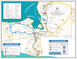 Florida Map Of Beaches by 1497279393 Sandestin Tram Map Png
