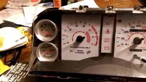 mustang custom gauges 1987 ford mustang gt convertible instrument cluster custom gauges