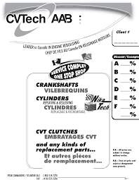 cvtech aab catalogue 2013 documents