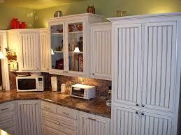 kitchen cabinets online hickorywhite with beadboard backsplash