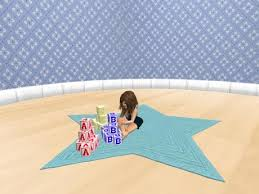 Play Room Rugs Second Life Marketplace Toddler Animated Playroom Rug Abc