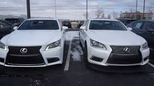 2014 lexus 460 ls 2014 lexus ls 460 differences between models ls460 f sport see the