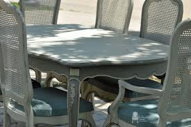 painted french dining set part 2 vintage charm restored