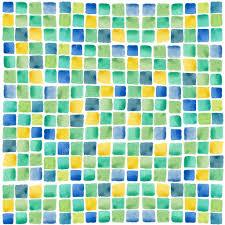 watercolor mosaic background u2014 stock vector dinal 58953991