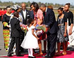 president obama and the first lady in tanzania photos