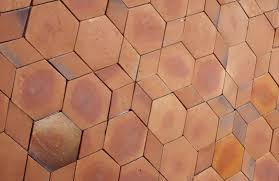 cheap hexagon tiles price for terrace pak clay roof tiles