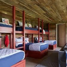 Bunk Beds Birmingham Bunk Room Plank Walls Design Ideas